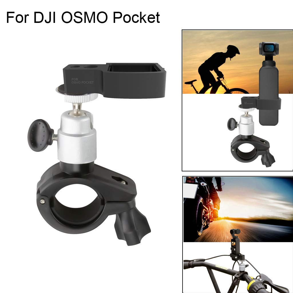 metal holder, LtrottedJ Bicycle Mount Clamp Holder Bracket Stand For DJI OSMO Pocket Handheld Gimble Cam