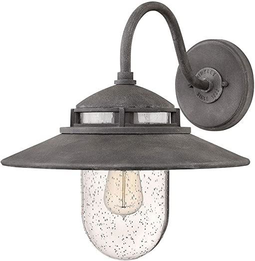 Hinkley Atwelll Collection Restoration One Light Medium Outdoor Wall Mount