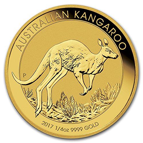 2017 AU Australia 1/4 oz Gold Kangaroo BU Gold Brilliant - Australia Gold Sales