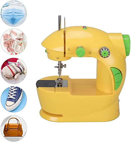 Nologo Mini máquina de Coser eléctrica for Adultos Principiantes ...