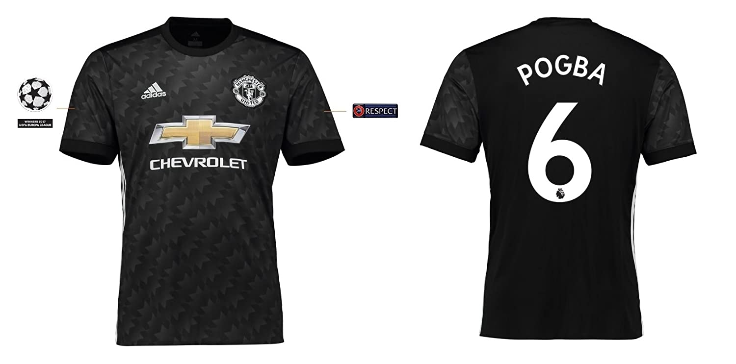 Trikot Kinder Manchester United 2017-2018 Away UCL - Pogba 6