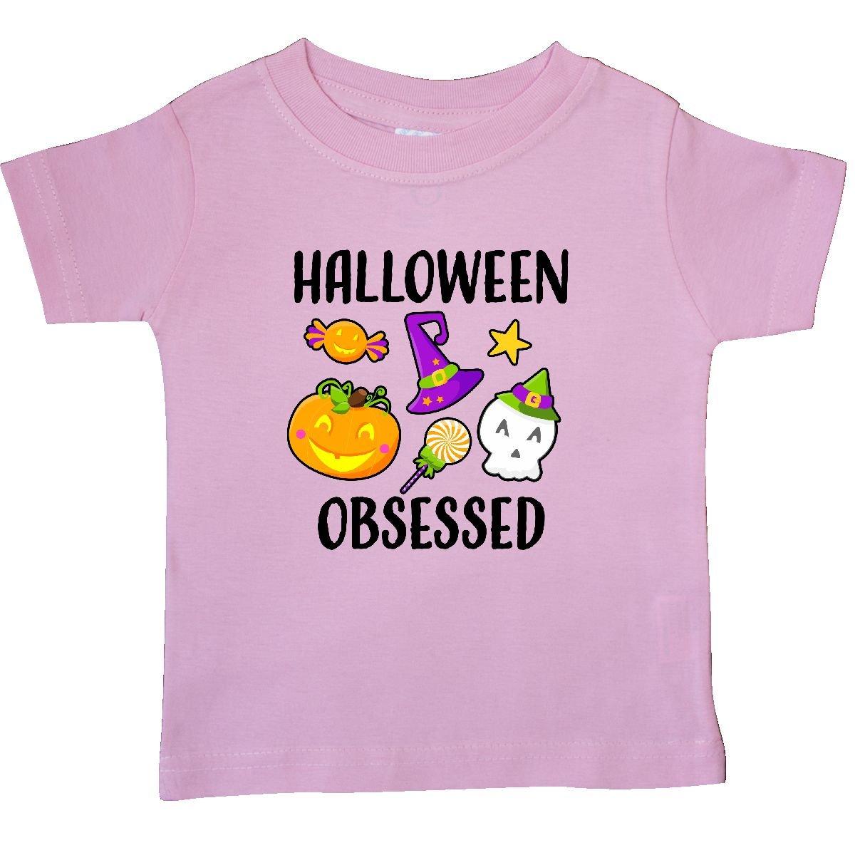 inktastic Halloween Girl Skull Toddler T-Shirt