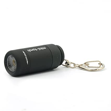 Mini Pocket Portable Keychain Keyring Led Camping Flashlight Torch Lamp Light #g Lampen & Laternen