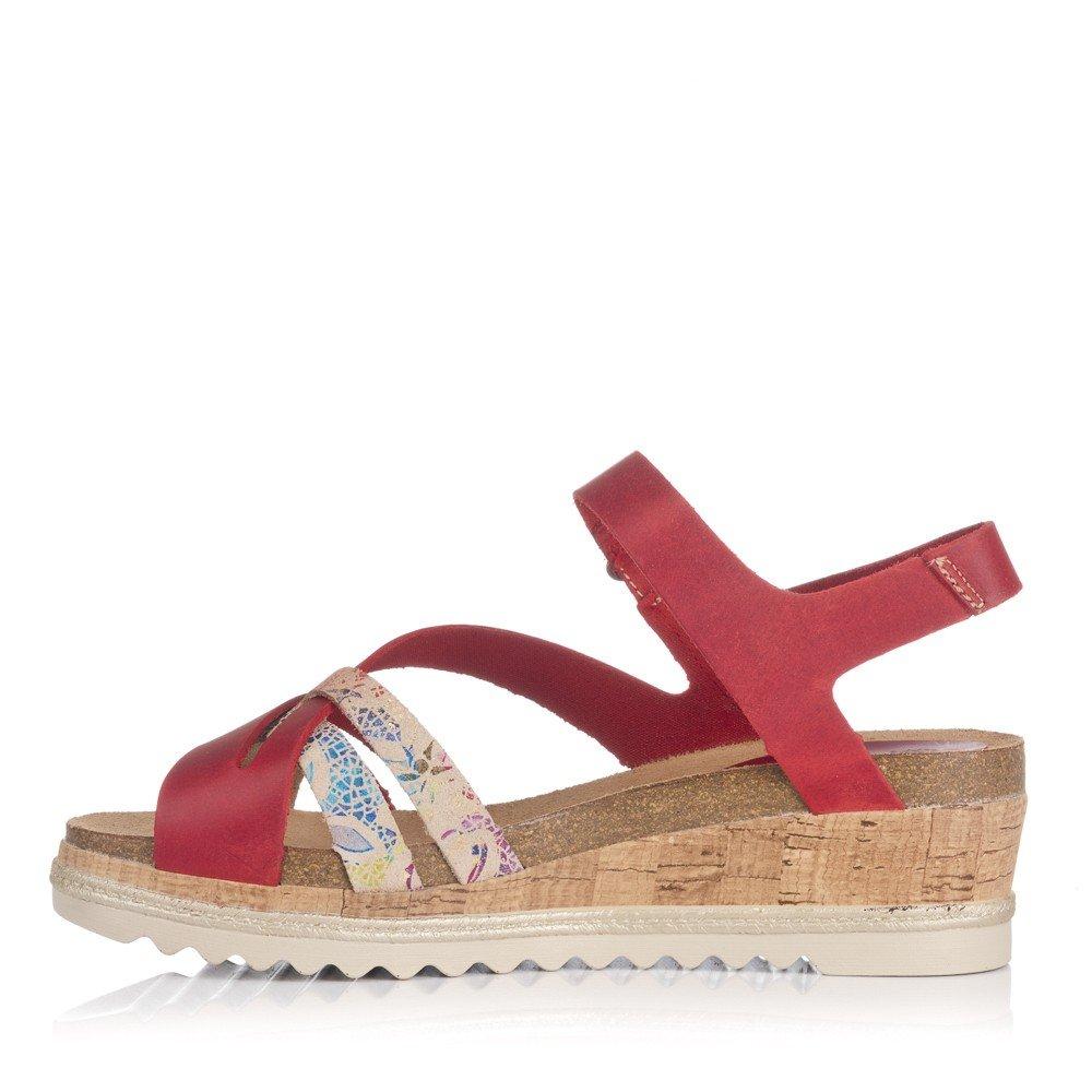 6545 Complementos es Amazon Piel Zapatos Roja Y rwgarxPq