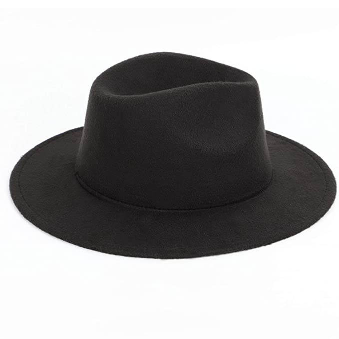 6e174af1128ff Men s and Women s Universal Hats Solid Color Fashion Warm Jazz caps Large  Size 60CM Adjustable hat