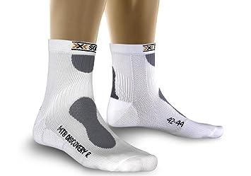 X-Socks calcetines de ciclismo de hombre MTN. Descubrimiento, hombre, blanco: Amazon.es: Deportes y aire libre