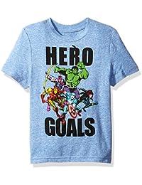 Little Boys Hero Team Goals T-Shirt