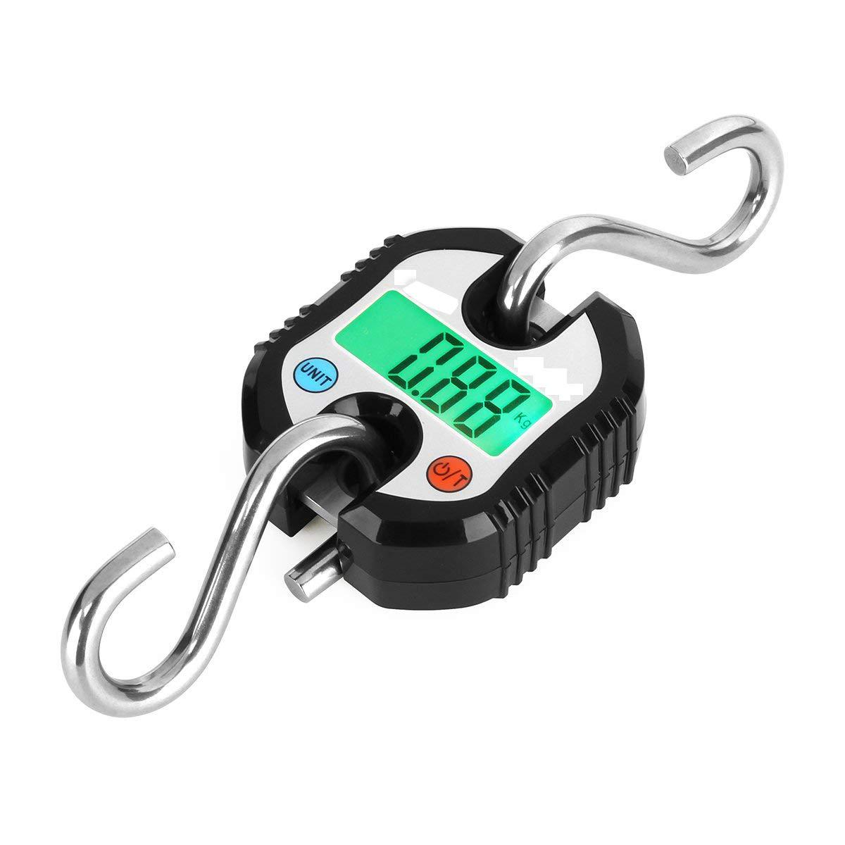Hanging Scale, Digital Hanging Scale Luggage Fishing Balance Pocket Crane 150kg