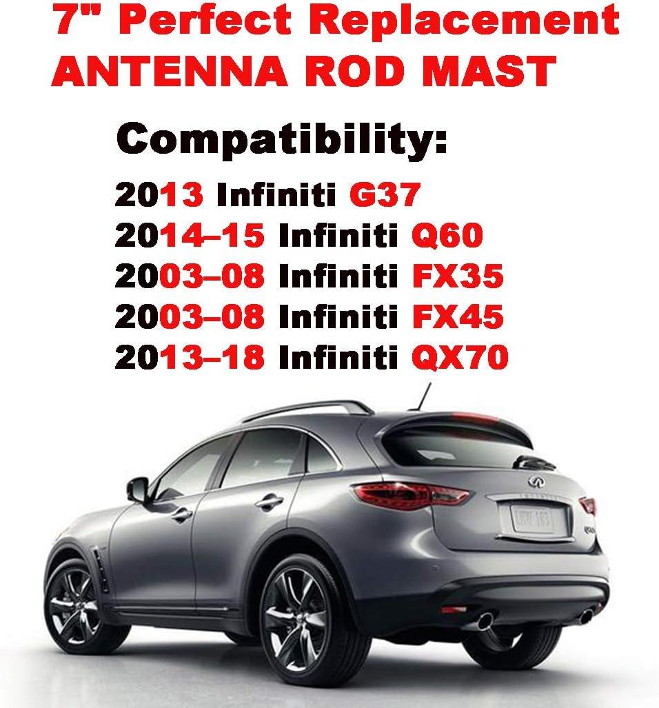 "2012 Infiniti FX35 FITS **SHORT**  6 3//4/"" ANTENNA MAST"