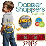 Dapper Snapper Made in the USA Baby & Toddler Adjustable Belt-Spiders