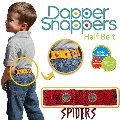 Dapper Snapper Made in the USA Baby /& Toddler Adjustable Belt-Spiders Toddler Tech USA