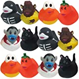 ArtCreativity 2.5 Inch Assorted Halloween Rubber Duckies for Kids, Pack of 12, Variety of Halloween Characters, Trick or…