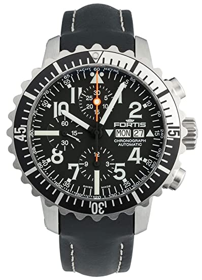Fortis Reloj los Hombres Marinemaster Classic Cronógrafo Automática 671.17.41 L 01