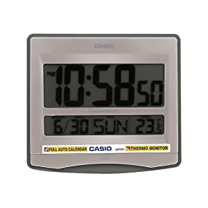 Casio Digital Wall Clock (ID-14-8DF)
