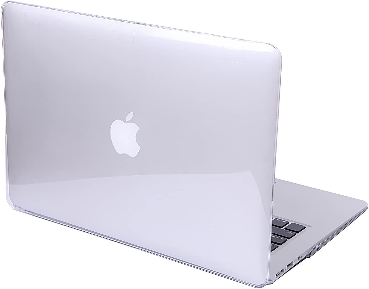 HDE Clear Plastic Hard Shell Case for Apple MacBook Air 13 inch (Models: A1369 / A1466), Crystal Clear