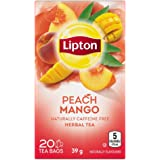 Lipton Peach & Mango Pyramid Tea Bags 20 Tea