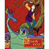 quest for camelot game - Quest for Camelot Vintage 1998 Thank You Notes w/ Envelopes (8ct)