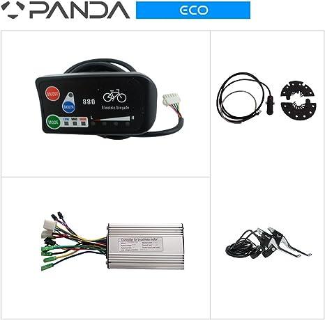 36 V 250 W bicicleta eléctrica para bicicleta sistema de control ...