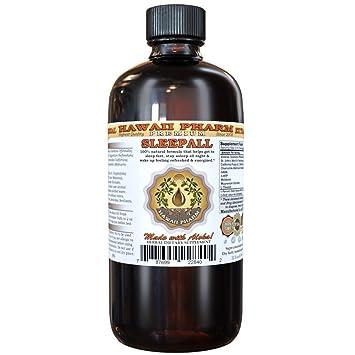 SLEEPALL - Hawaii Pharms Fast Acting Extra Strength Sleep Aid Natural Premium Quality Liquid Extract Sleep