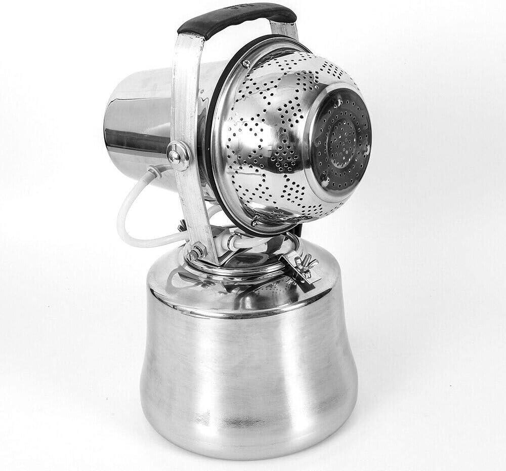 ZHFEISY 0-30 Micron Ultra Fine Electric ULV Sprayer Fog Machine 1.45 Gallon Fogger Atomizer Sprayer AC110V 1200W for Sterilization//Disinfection