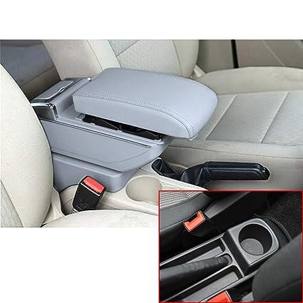 Muchkey Auto Interior Partes Centro Consola Apoyabrazos Caja Sin ...