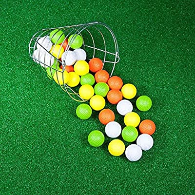 Jef World of Golf Gifts and Gallery, Inc. Golf Practice Balls (42 Multi-Colored Balls)