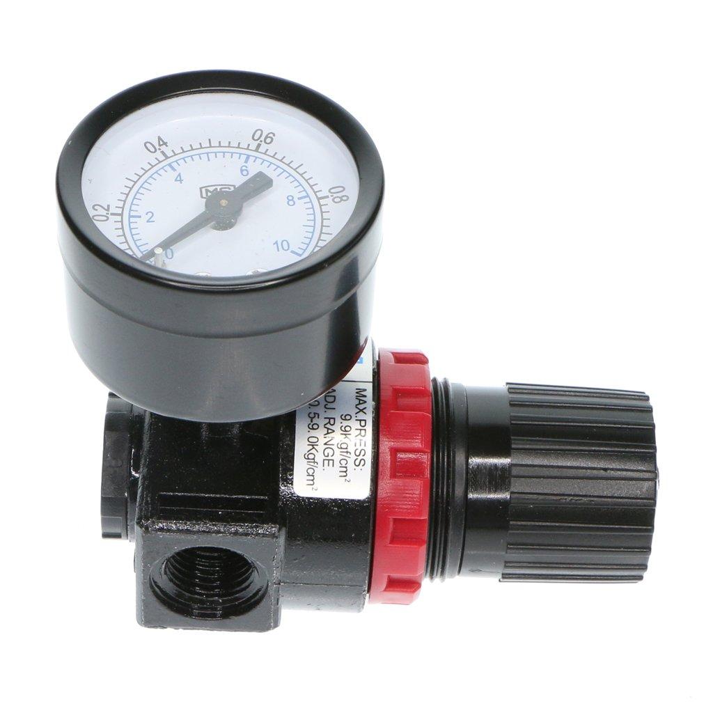 Homyl 1 Pieces Air Compressor AR2000 Oil/Water Separator Regulator Trap Filter