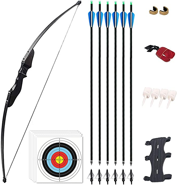 Mybo Archery Rogue Kit Teenager Adult Starter Bow Set with Arrows