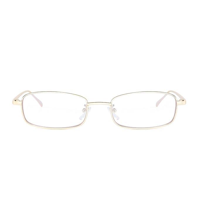 Amazon.com: Pequeño lente transparente tintado anteojos de ...