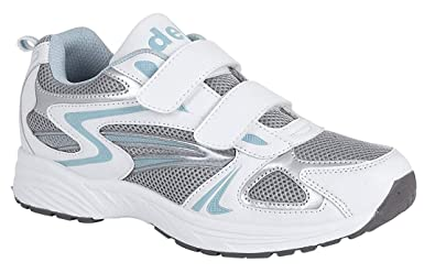 Image Unavailable. Image not available for. Colour  NEW WOMENS LADIES  TRAINERS TRAINING SHOES WHITE SIZE UK 5 e7270c46db