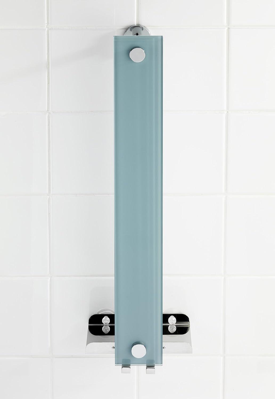 WENKO Power Loc Handtuchhalter Era Befestigen ohne bohren Stahl 18 x 58 x 13 cm Chrom