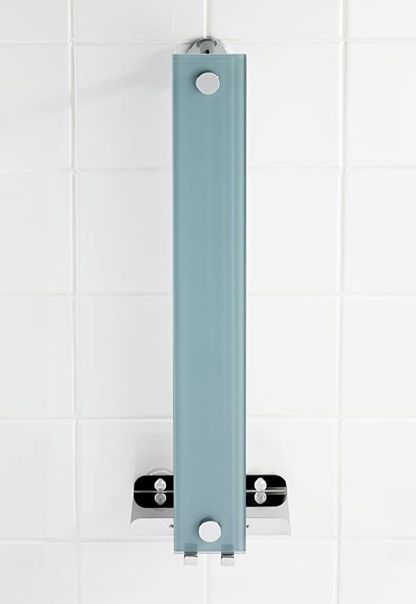 WENKO 22345100 Power-Loc Handtuchhalter Era Befestigen ohne bohren Stahl 18 x 58 x 13 cm Chrom
