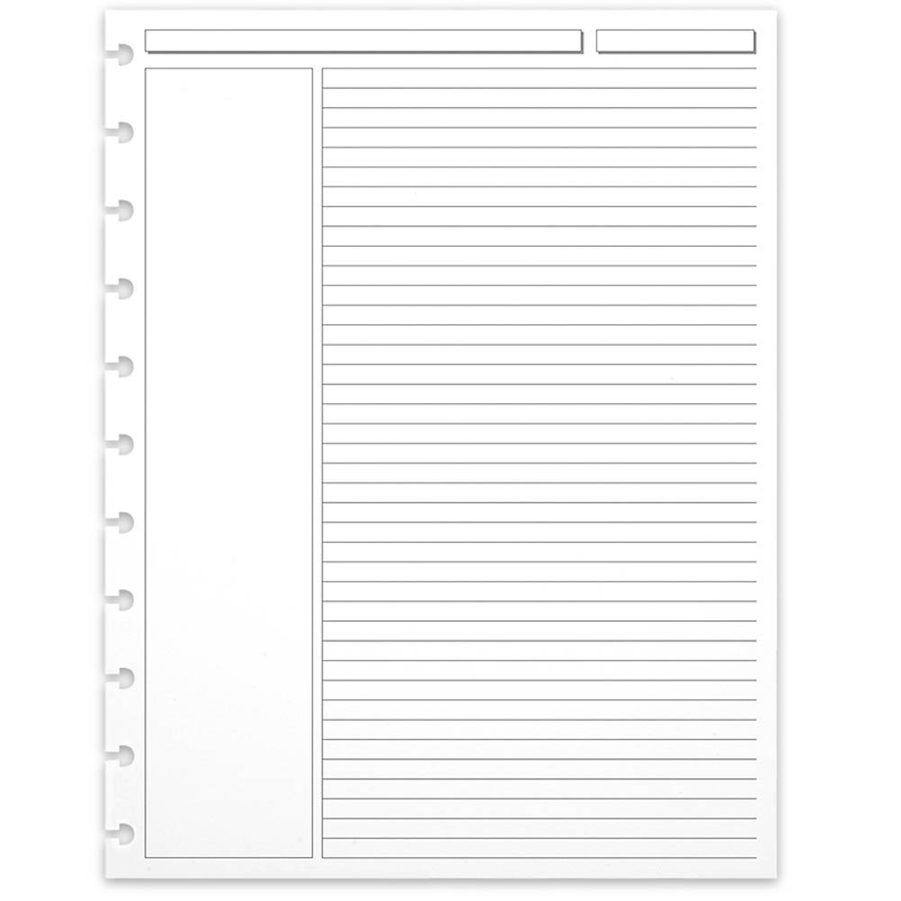 Levenger 300 Circa Annotation 1/4-Inch, Ruled Refill Sheets LTR (ADS5910 LTR) by Levenger