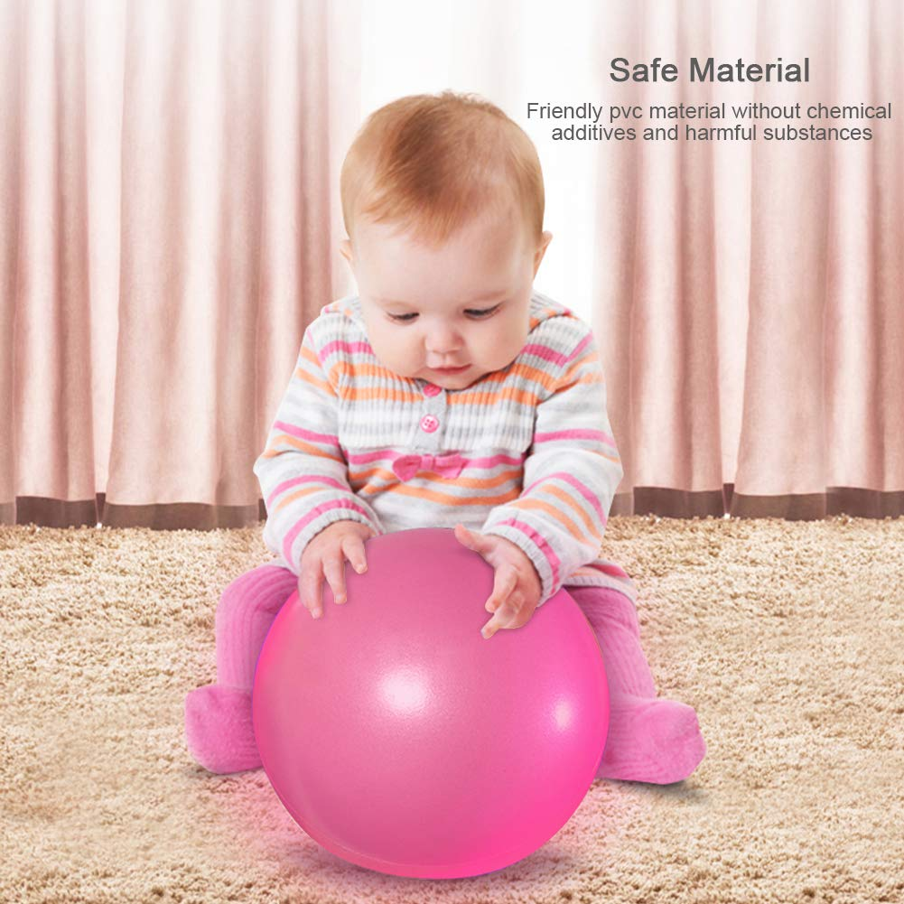 23 cm 2 Pack Ballon Fitness Anti Eclatement Mini Ballon pour Pilates pour Yoga Exercice Th/érapeutique AOAVE Balle de Pilates