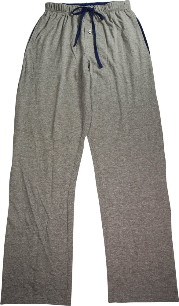 Hanes Men's Solid Knit Pant (XXX-Large, Grey Heather)