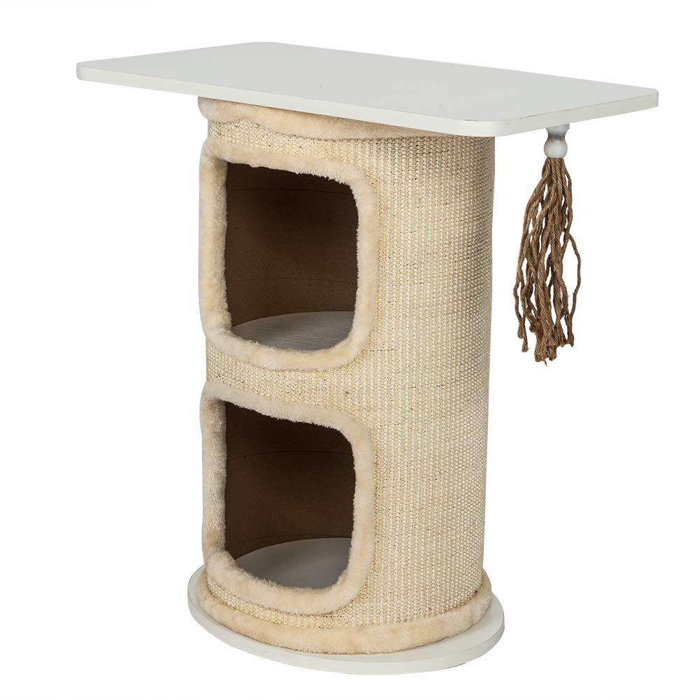 Amazon.com: Wumedy - Árbol de escalada para gato con doble ...