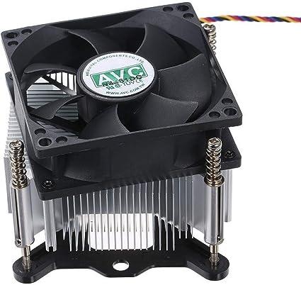 Ventilador de refrigeración de la CPU CPU Cooler Heatpipe ...