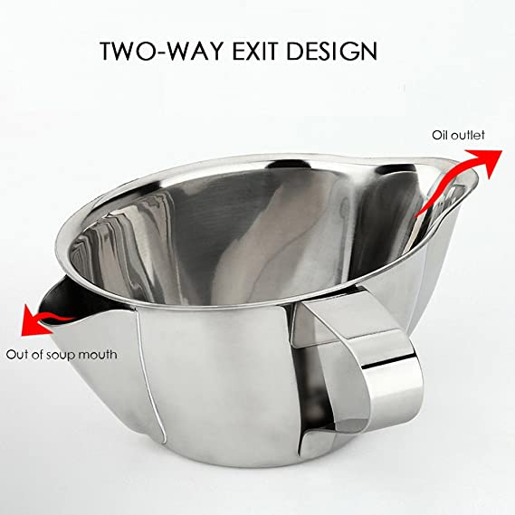 AIYoo 2 Pack Filter Spoon,Stainless Steel Fine Wire Mesh Oil Filter Deep Fat Fryer Skimmer Spoon Soup Residue Oil Strainer Colander Spoon Non-Slip Lightweight Kitchen Tool