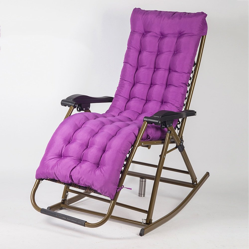 QFFL 多機能カジュアル調節可能な折りたたみチェア/老人妊娠中の女性バルコニー背もたれの椅子/実用的なオフィス昼食休憩ロッキング椅子/屋外ポータブルリクライナー アウトドアスツール (色 : B) B07F5RDLYF B B