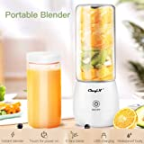 Portable Blender,inkint Personal Size Blender Juicer Cup for Shakes and Smoothies Fruit Mixer with USB Rechargeable 6…