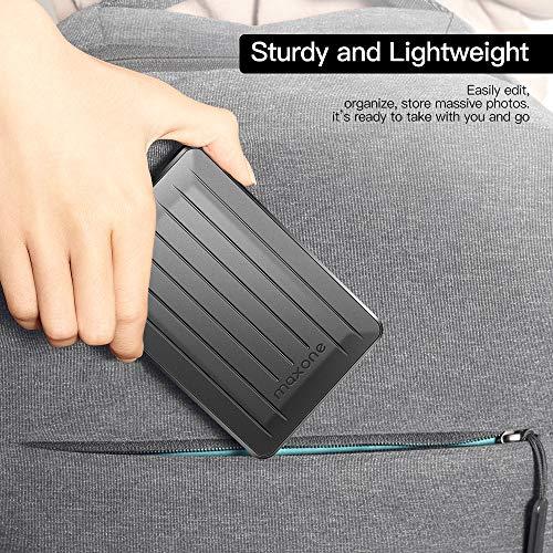 160GB Portable External Hard Drive- 2.5 Inch External Hard Drives for Laptop,Desktop,Wii U,MacBook,Chromebook (160GB, Black) by Maxone (Image #4)