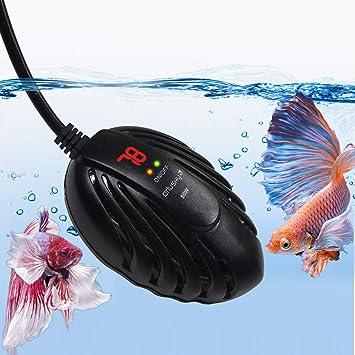Amazon.com: Orlushy Mini calentador de acuario 50 W 100 W ...
