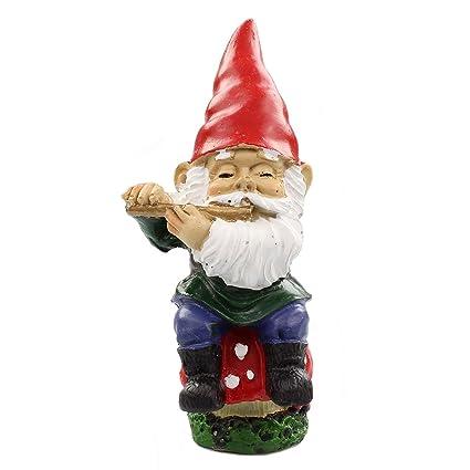 Amazon com: NW Wholesaler Fairy Garden Supplies - Gnome