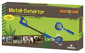 moses Expedition Natur 9625 - Detector de metales (31 a 74 cm, pilas incluidas