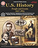 img - for U.S. History, Grades 6 - 12: People and Events 1607-1865 book / textbook / text book