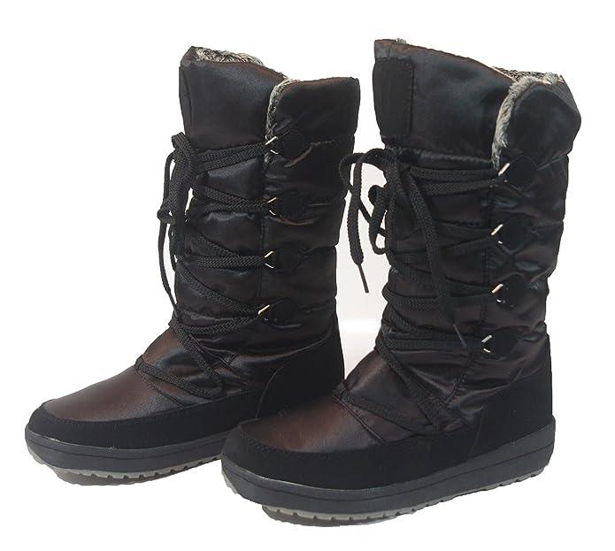 ffbb39142614 Crane 2016-2017 Winterstiefel Stiefeletten WARM DICK GEFÜTTERT Damen Schnee  Stiefel Boots  Amazon.de  Schuhe   Handtaschen