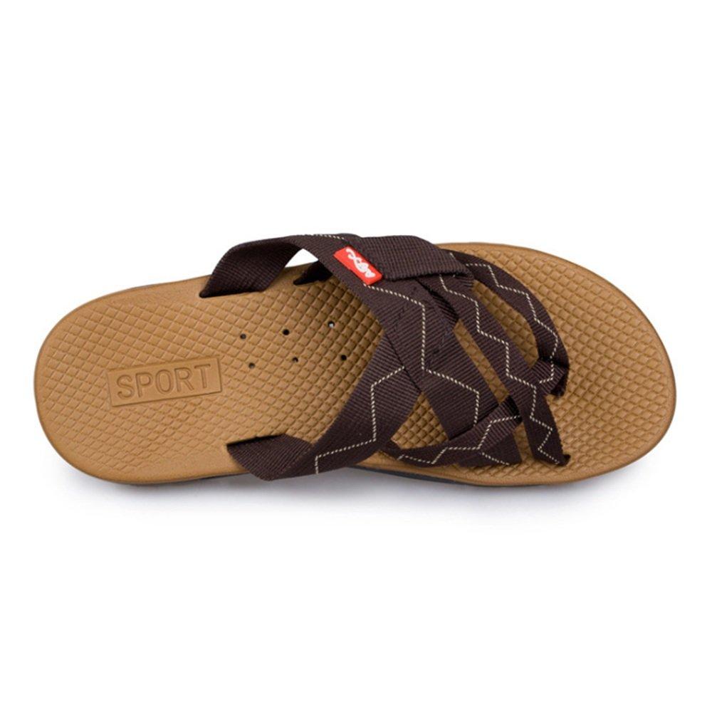 Wagsiyi Hausschuhe Sommerschuhe Herren Outdoor Sports Strandschuhe Slip Light schwarz Sandalen Strandschuhe Sports (Farbe : Braun, Größe : 39 1/3 EU) Braun cc92d5