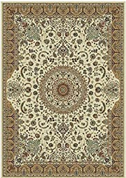 Stunning Silk Rug Persian Traditional Area Rugs 2x12 Rugs Living Room Area Rugs Ivory Rug Luxury Long Hallway Runner Silk Brand High Density Rug Runners Rug (2\'x12\' Hallway Runner)