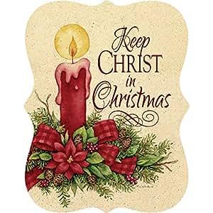 Custom Decor Hang Around–Keep Cristo