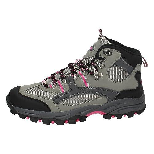 ZAPATOP HM-299 Botas DE MONTAÑA Mujer Botines: Amazon.es: Zapatos y complementos